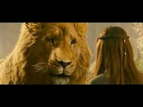 aslan - Clip from The Chronicles of Narnia: Prince Caspian.