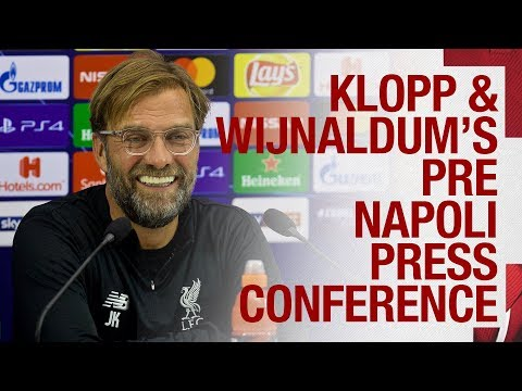 Video: Liverpool's Champions League press conference v Napoli | Klopp & Wijnaldum