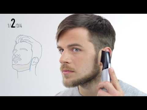 Panasonic Design-Trimmer ER-GD60 - Tutorial Chinstrap Bartstyle
