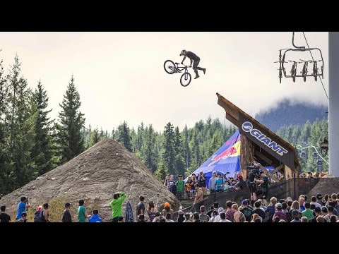 Big Air Slopestyle Mountain Biking - Red Bull Joyride 2015 (видео)