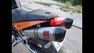 4. KTM Super Duke 990 2007.  full Akrapovic