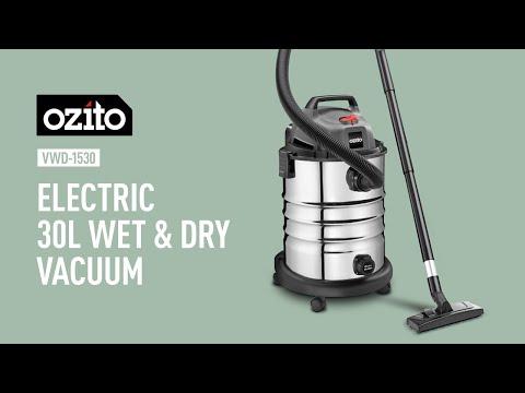 Ozito 1500W 30L Wet & Dry Vacuum - Product Video