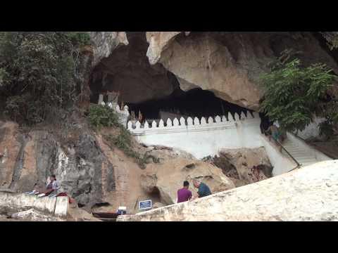 เที่ยวถ้ำติ่ง Pak Ou Caves (видео)