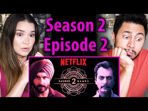 SACRED GAMES | Season 2 Episode 2 | Saif Ali Khan | Nawazuddin Siddiqui | Reaction!