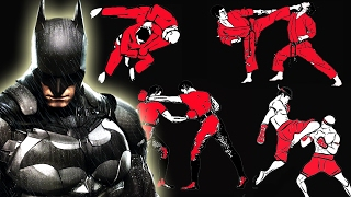 I already analyzed how many fighting styles and the warehouse fight scene from Batman vs. Superman Ultimate Edition, so now we take an in depth look to figure out how many fighting styles or martial arts does Batman know in Batman Arkham Asylum, Batman Arkham City, Batman Arkham Origins, and Batman Arkham Knight! Brought to you by the same guy who did the batman vs superman warehouse fight scene breakdown and how many fighting styles does Batman know in Batman vs Superman! Lego Batman will also make an appearance soon! So subscribe for more!Want more fight scene breakdown? Click below! https://www.youtube.com/playlist?list=PLEGMqA6EvzxlV-NP7_MO1aPV6y_SUnIx3Hitman by Kevin MacLeod is licensed under a Creative Commons Attribution license (https://creativecommons.org/licenses/by/4.0/)Source: http://incompetech.com/music/royalty-free/index.html?isrc=USUAN1300013Artist: http://incompetech.com/
