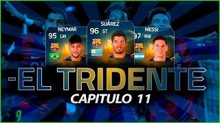 FIFA 15 | EL TRIDENTE | NEYMAR - SUAREZ - MESSI | #11, neymar, neymar Barcelona,  Barcelona, chung ket cup c1, Barcelona juventus