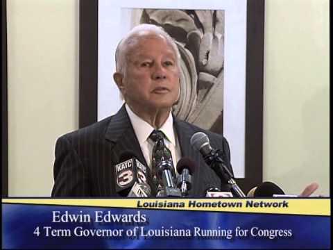 Edwin Edwards announces for Congress, Part 1