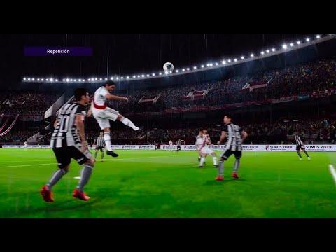 Golazo épico de FALCAO frente a Botafogo [PES 2021]