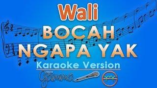 Video Wali - Bocah Ngapa Yak (Karaoke Lirik Tanpa Vokal) by GMusic MP3, 3GP, MP4, WEBM, AVI, FLV Juni 2018