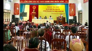 Đại biểu HĐND tỉnh, thành phố tiếp xúc cử tri phường Phương Đông