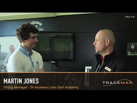 St Andrews Links Golf Academy Trackman Driver Fitting Session