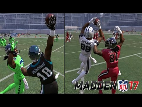 DO OVERALLS MATTER WHEN IT COMES TO JUMP BALLS IN MADDEN 17?! DGB VS. DEZ! THE FADE TEST!