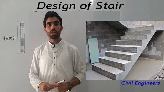 Design of staircase.