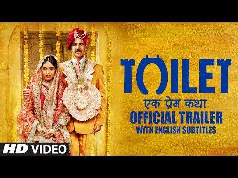Toilet Ek Prem Katha Trailer With English Subtitles   Akshay Kumar   Bhumi Pednekar   11 Aug 2017
