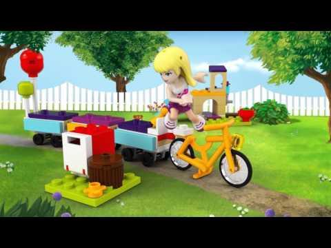 Конструктор День рождения: велосипед - LEGO FRIENDS - фото № 8