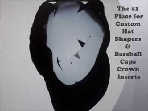 Custom Hat Shapers & Baseball Caps Crown Inserts