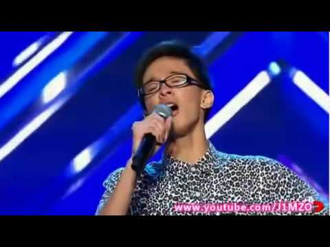 Jal Joshua,17,Gangly Kid Gets Big Ovation Mid Song!! WOW!! |