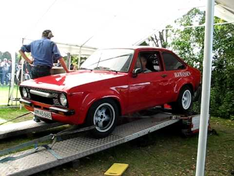 Ford Escort engine blows up on dyno