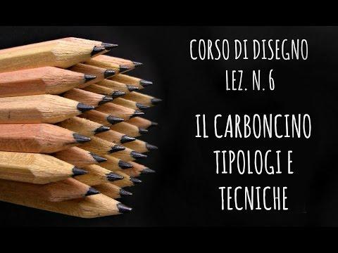 corso di disegno, lez.n.6 - il carboncino: tipologie e tecniche