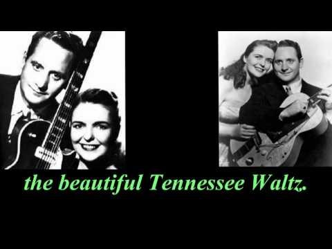 Tekst piosenki Les Paul & Mary Ford - Tennessee Waltz po polsku