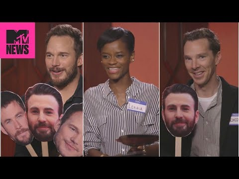 👊  'Avengers: Infinity War' Cast Plays 'Know Your Chris' 😂    MTV News