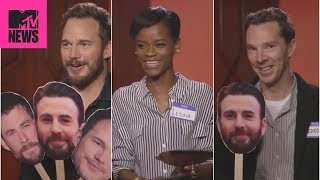 Video 👊  'Avengers: Infinity War' Cast Plays 'Know Your Chris' 😂  | MTV News MP3, 3GP, MP4, WEBM, AVI, FLV Juli 2018