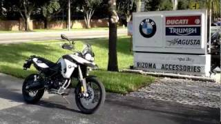 7. 2010 BMW F800GS Enduro Motorcycle