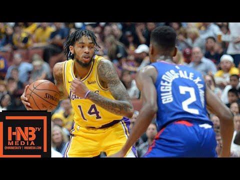 Los Angeles Lakers vs LA Clippers Full Game Highlights | 10.06.2018, NBA Preseason - Thời lượng: 9:31.
