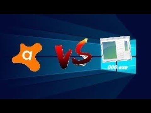 avast free antivirus vs 000.exe