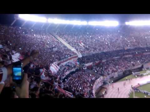 Video - Hinchada de River vs Estudiantes - Copa Sudamericana [GOL] - Los Borrachos del Tablón - River Plate - Argentina