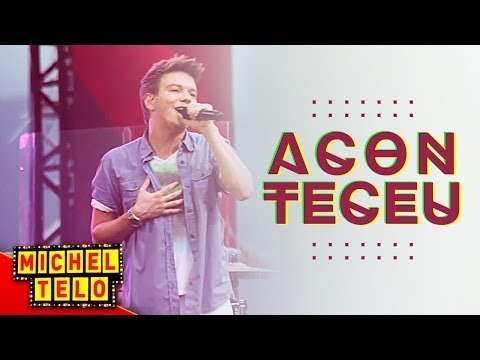 Michel Teló - Aconteceu lyrics
