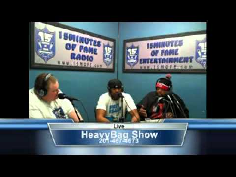 D-Chamberz Interview on 15 Minutes Of Fame Radio #HeavyBagShow