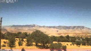 KCASQUIR2 Weather Time Lapse - 20150727