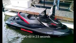 7. 2013 Seadoo GTX Limited iS 260 First Day Out
