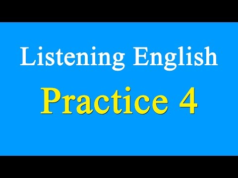 English Listening Practice Level 4 - Learn English By Listening Engilsh With Subtitle
