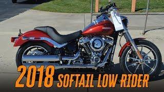 10. 2018 Harley-Davidson® FXLR - Softail Low Rider® Wicked Cherry
