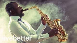 Jazz Moderno, Suave, Alegre y Contemporaneo con Saxofón