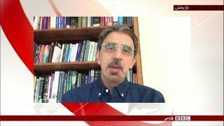 محمدتقی کروبی، پسر مهدی کروبی، در مصاحبه با بیبیسی توضیح میدهد که چرا پدرش ناچار به اعتصاب غذای خشک شده. وی همچنین به تشریح شرایطی میپردازد که منجر به اعلام اعتصاب غذای آقای کروبی در این شرایط مشخص شده است. مشترک شويد: http://bit.ly/12wjlifCوبسايت ما: http://www.bbc.co.uk/persian/فيسبوک: https://www.facebook.com/bbcpersianتوييتر: https://twitter.com/bbcpersianگوگل پلاس: https://plus.google.com/1181902398236611944609/posts