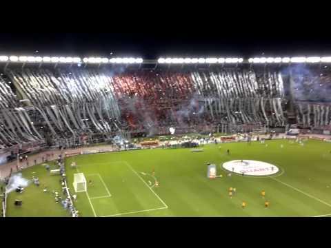 Video - QUE SE MUERAN TODOS LOS BOSTEROS - River Plate vs Atlético Nacional - Copa Sudamericana 2014 - Los Borrachos del Tablón - River Plate - Argentina