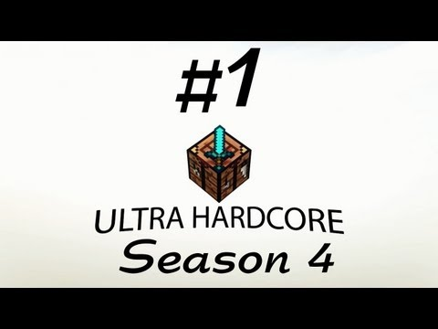 НОВЫЙ СЕЗОН (Minecraft - Ultra Hardcore - Season 4) #1
