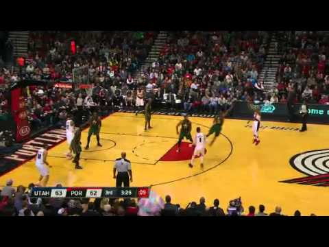 Utah Jazz 99 &#8211; Portland Trail Blazers 105