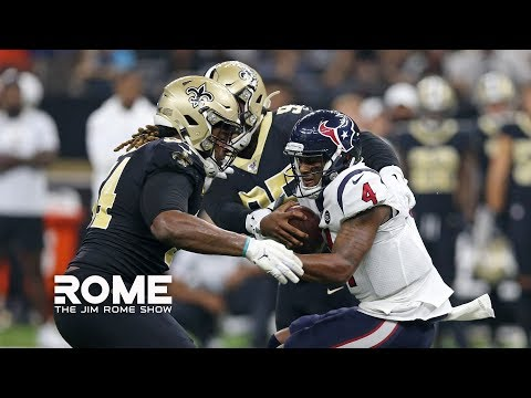 Video: The Texans Need To Protect Deshaun Watson | The Jim Rome Show
