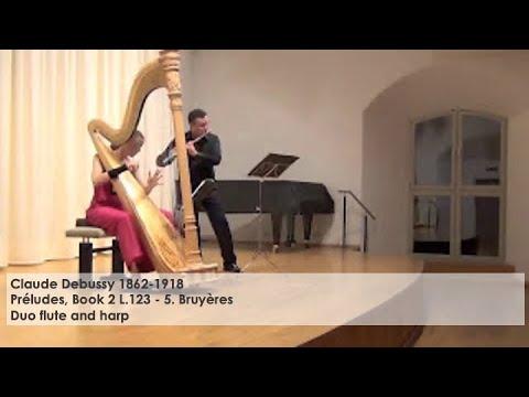 Claude Debussy Bruyères, Silke Aichhorn – Harfe / Harp