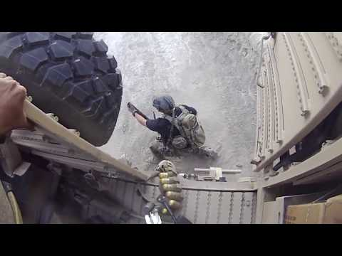 U S  Special Forces Combat Footage in Afghanistan   Helmet Cam Live Action