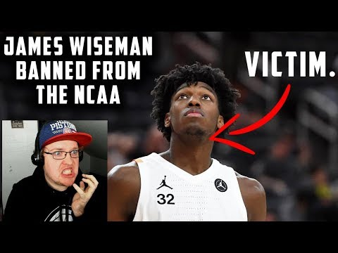 Reacting To James Wiseman Getting BANNED From The NCAA