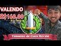 Torneio de clash royale de 2000 gemas com premiação de 6500 gemas para o ganhador !!!