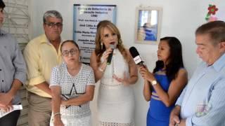 Inauguração do CREI em Vieirópolis
