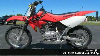 "10. 2005 Honda CRFâ""¢80F Off-road - Honda Northwest - Crystal..."