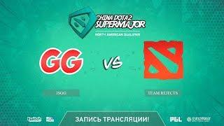 IsGG vs Team Rejects, China Super Major NA Qual, game 1 [Autodestruction]