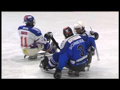 Sledge hokej K. Vary - Králové ČB